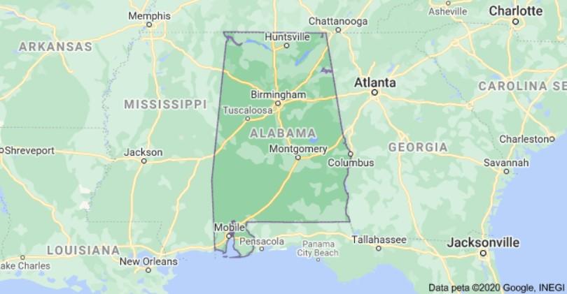 Alabama Per Diem Rates