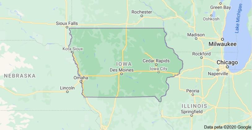 Iowa Per Diem Rates