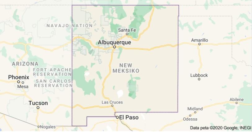 New Mexico Per Diem Rates