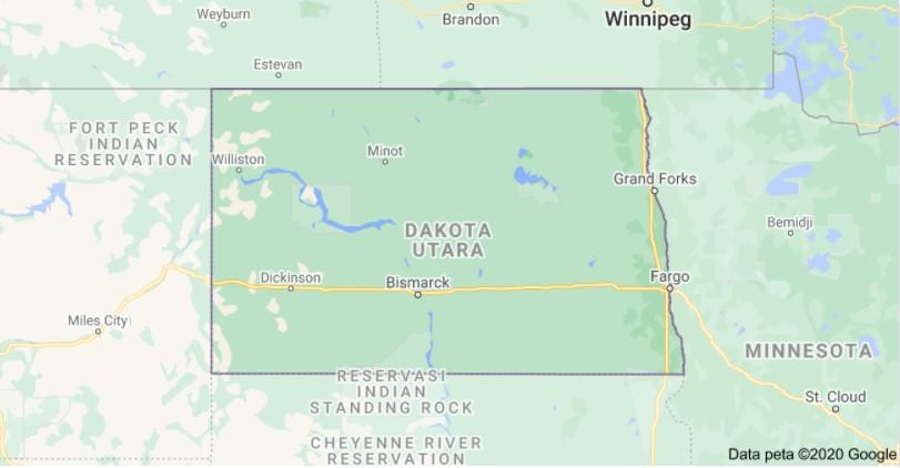 North Dakota Per Diem Rates