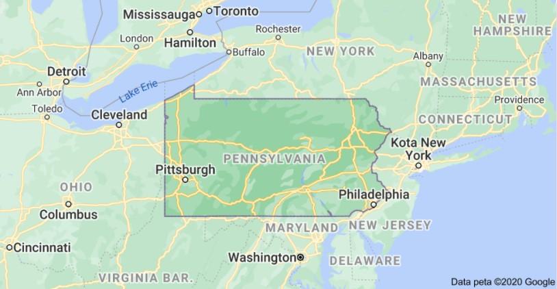Pennsylvania Per Diem Rates