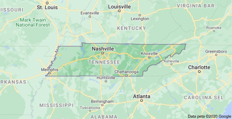 Tennessee Per Diem Rates